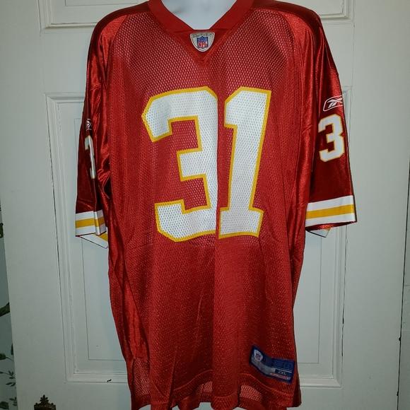 Reebok Kansas City Chiefs Holmes #31 Jersey 2XL